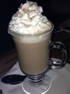 Need an adult coffee? Order the special coffee made at your table at Las Mananitas in Brewster (Southeast), N.Y.  Photo credit: M. Ciavardini
