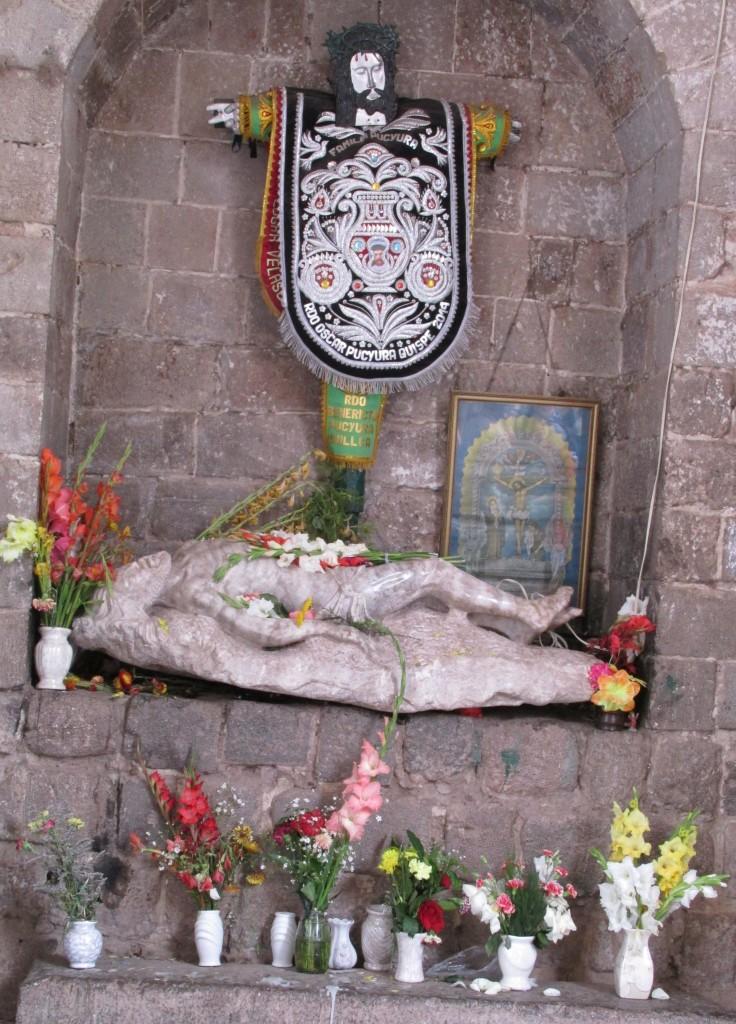 At a cemetery in Cusco, Peru