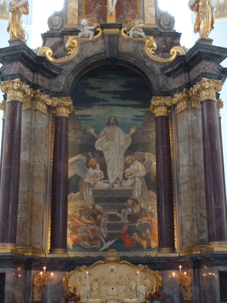 Jesus at St. Michaelis Church in Hamburg, Germany Photo credit: M. Ciavardini