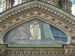 Jesus at the Church of the Spilt Blood in St. Petersburg, Russia Photo credit: M. Ciavardini