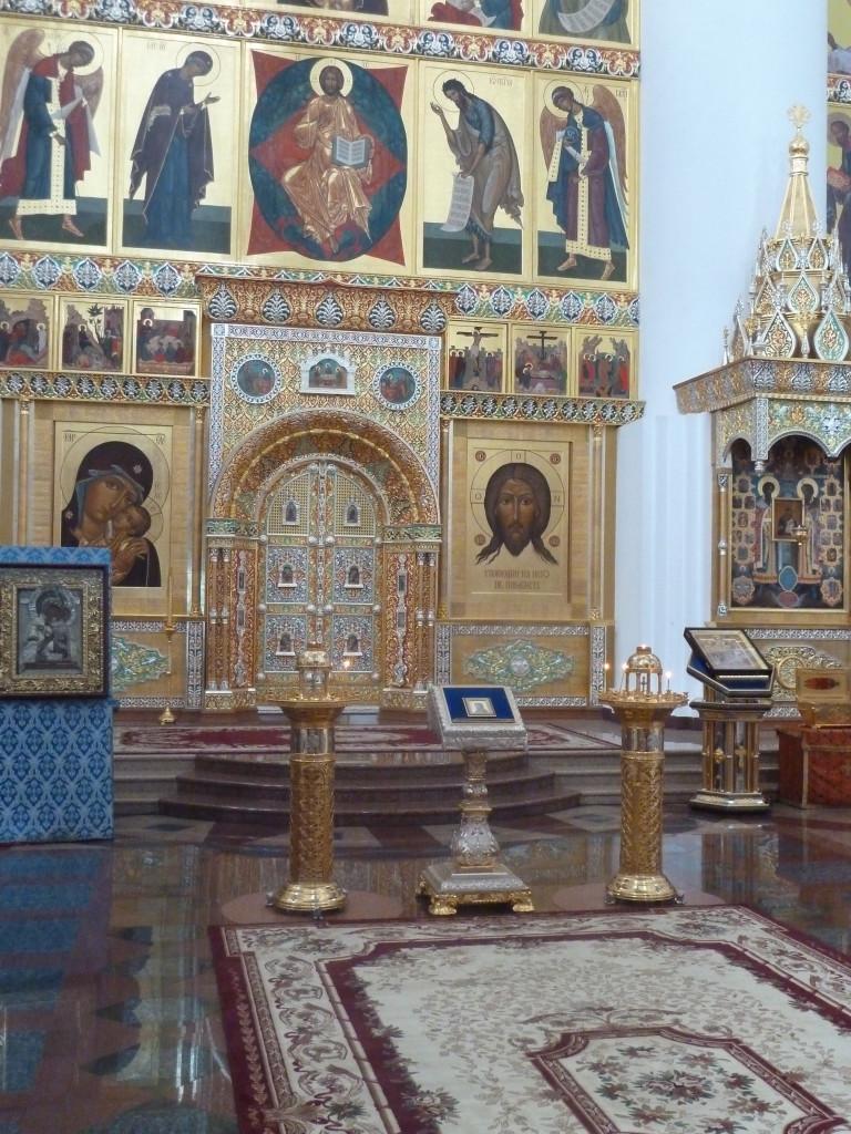 Jesus in Yaroslavl, Russia Photo credit: M. Ciavardini