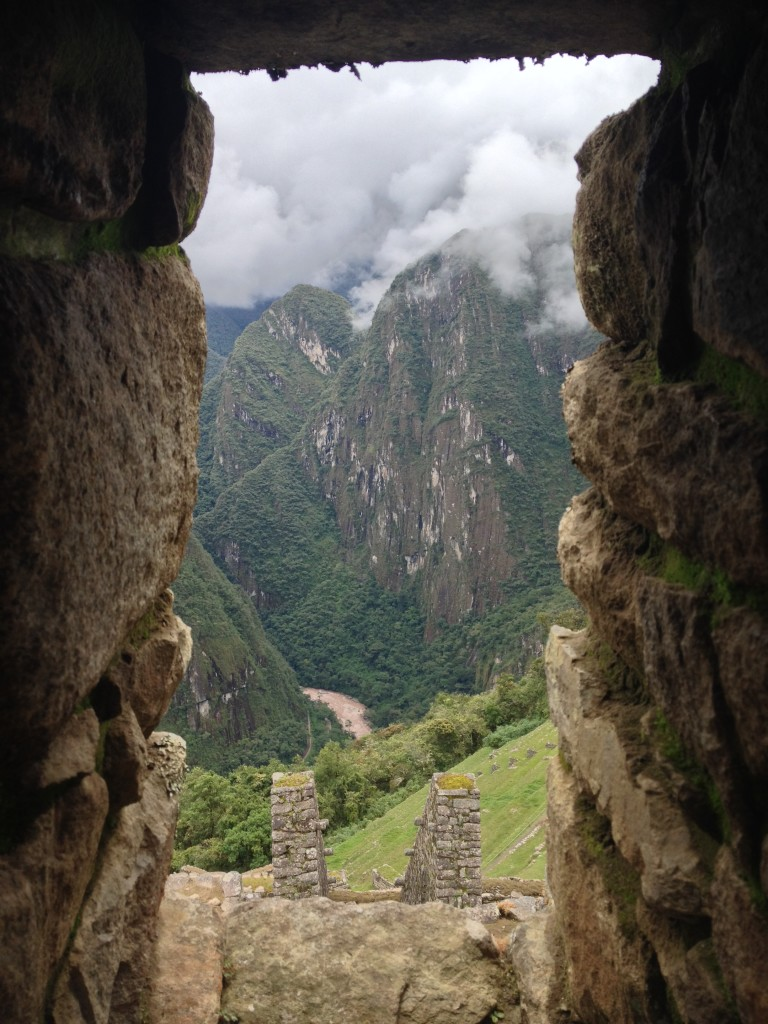 A view of the valley from Machu Picchu Photo credit: M. Ciavardini