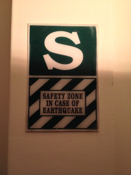 Do you feel more or less safe in a safety zone? Photo credit: M. Ciavardini