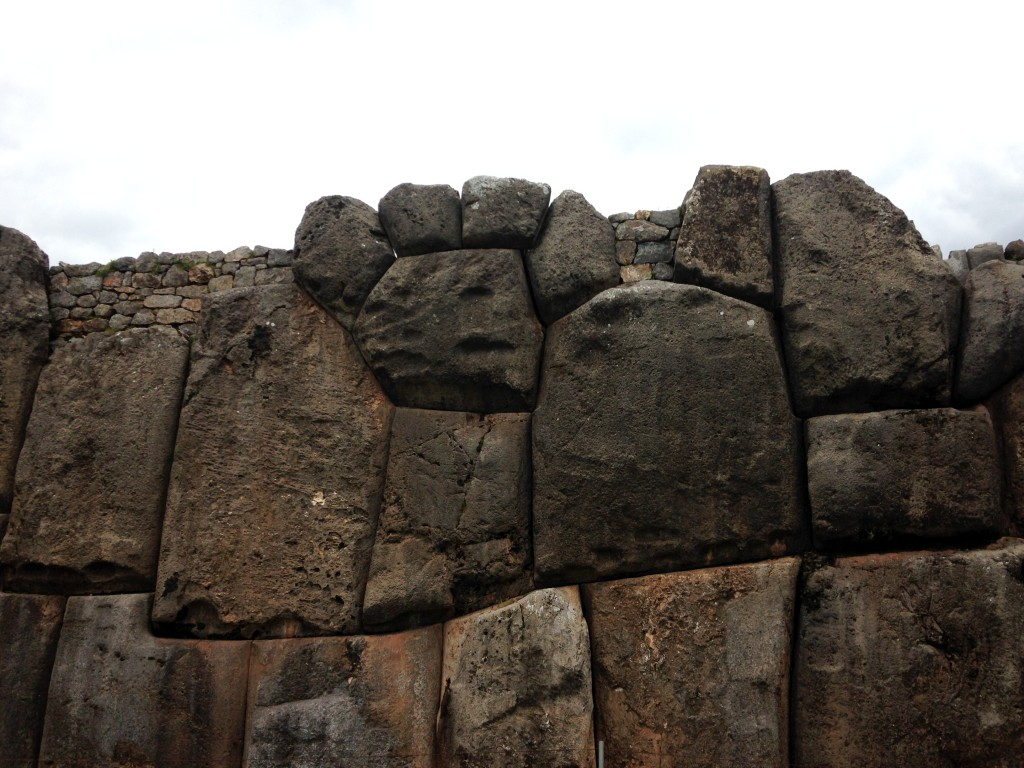 A stone puma paw at the Incan site Sacsayhuaman in Cusco, Peru Photo credit: M. Ciavardini