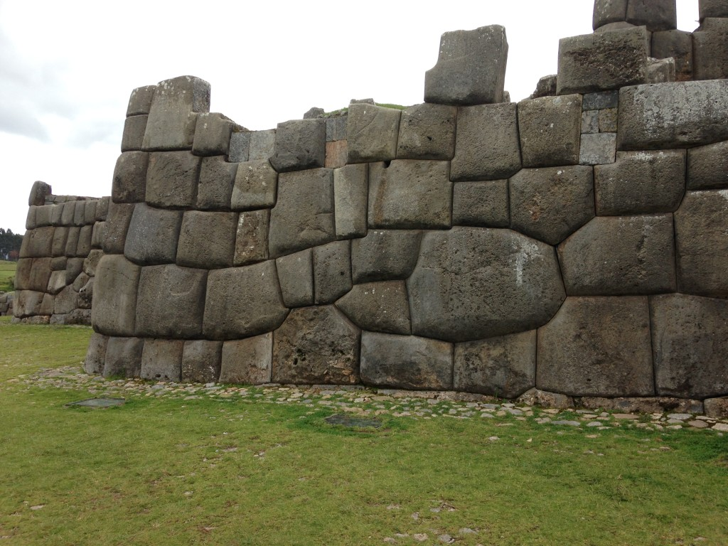 Stones assembled in the form of a snake at the Sacsayhuaman site in Cusco, Peru. Photo credit: M. Ciavardini