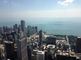The view from Willis Tower in Chicago Photo credit: M. Ciavardini