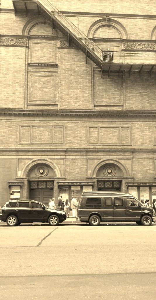Carnegie Hall in Manhattan. Photo credit: A. Ciavardini