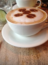 Crêpes are a good accompaniment to the cappuccino at Little Crêpe Street in Mount Kisco, N.Y. Photo credit: M. Ciavardini