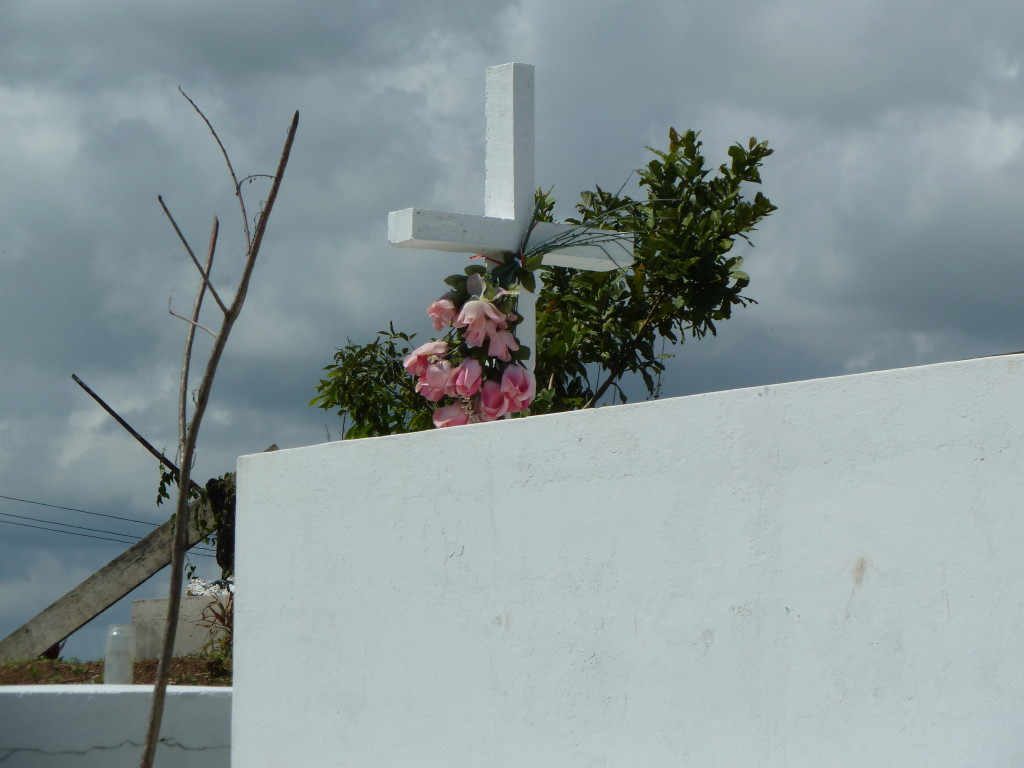 Tranquility at a graveyard in Belize Photo credit: M. Ciavardini