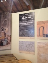 Information about slavery presented at the Cabildo in New Orleans Photo credit: M. Ciavardini