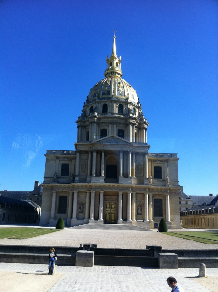 Napoleon Bonaparte's tomb is at Les Invalides in Paris, but where else can his influence be found? Photo credit: V. Laino