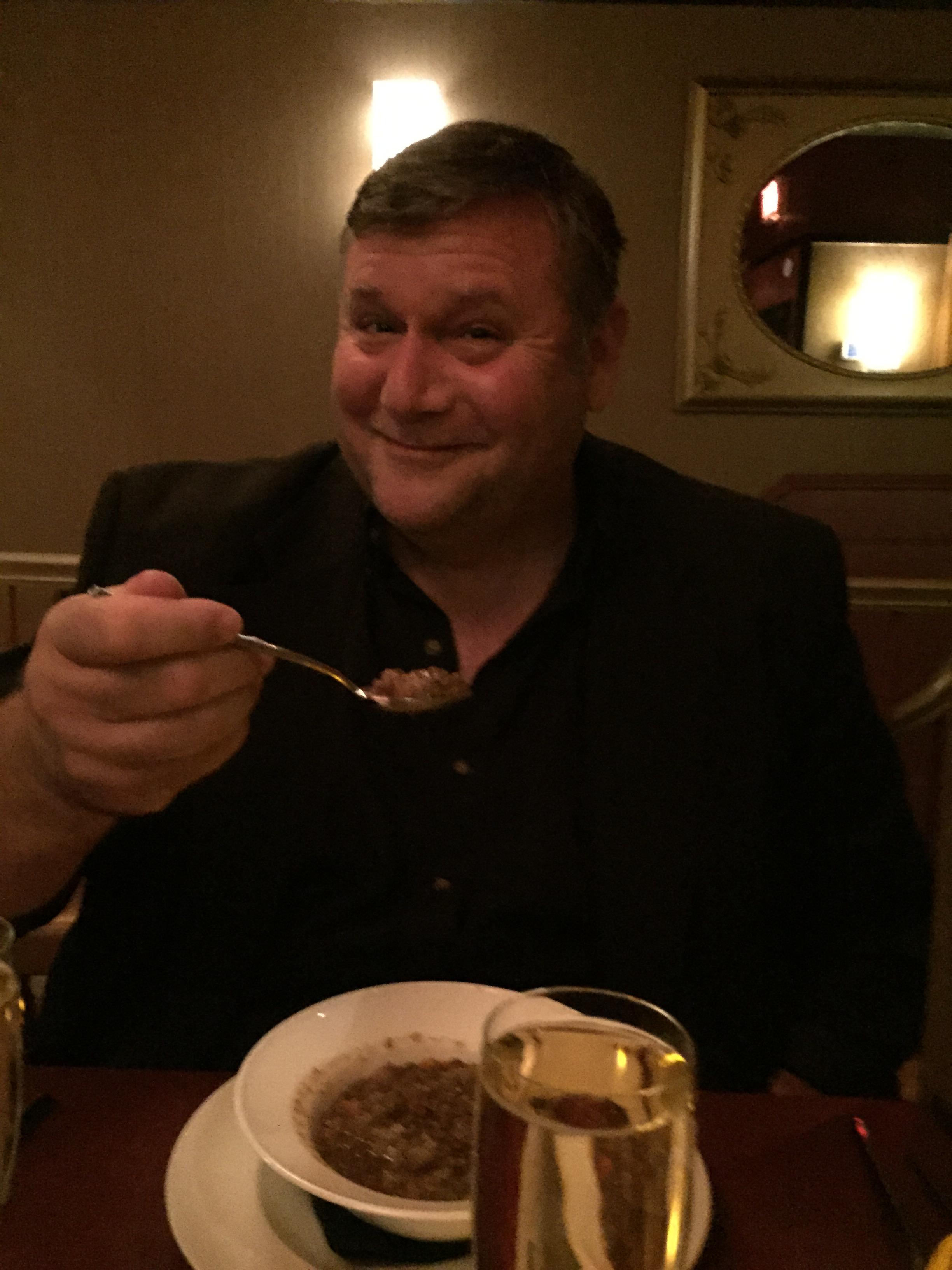 spaghetti and wheatballs at Candle 79