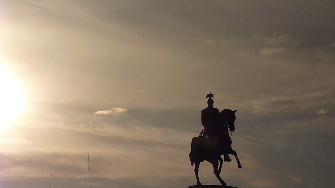statue in Russia