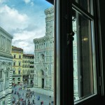 A room with a view of the Duomo in Florence Photo credit: M. Ciavardini