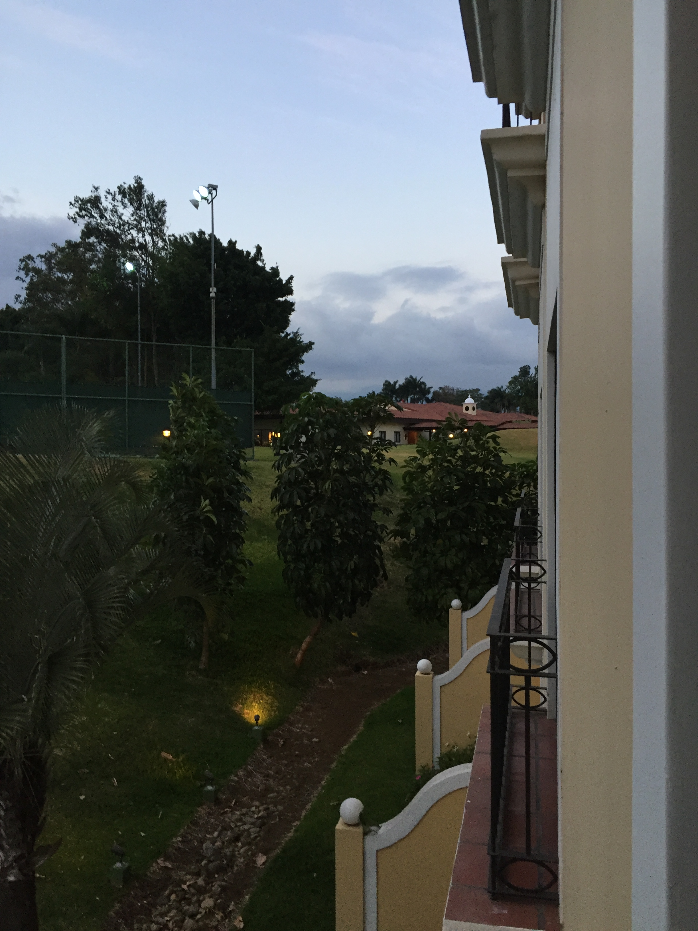 Located close to the San Jose airport, the view from a guestroom in the Costa Rica Marriott San Jose is surprisingly pastoral. Photo credit: M. Ciavardini