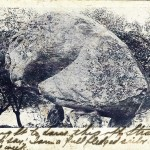 Balanced Rock in North Salem, N.Y., as depicted on a 1906 postcard