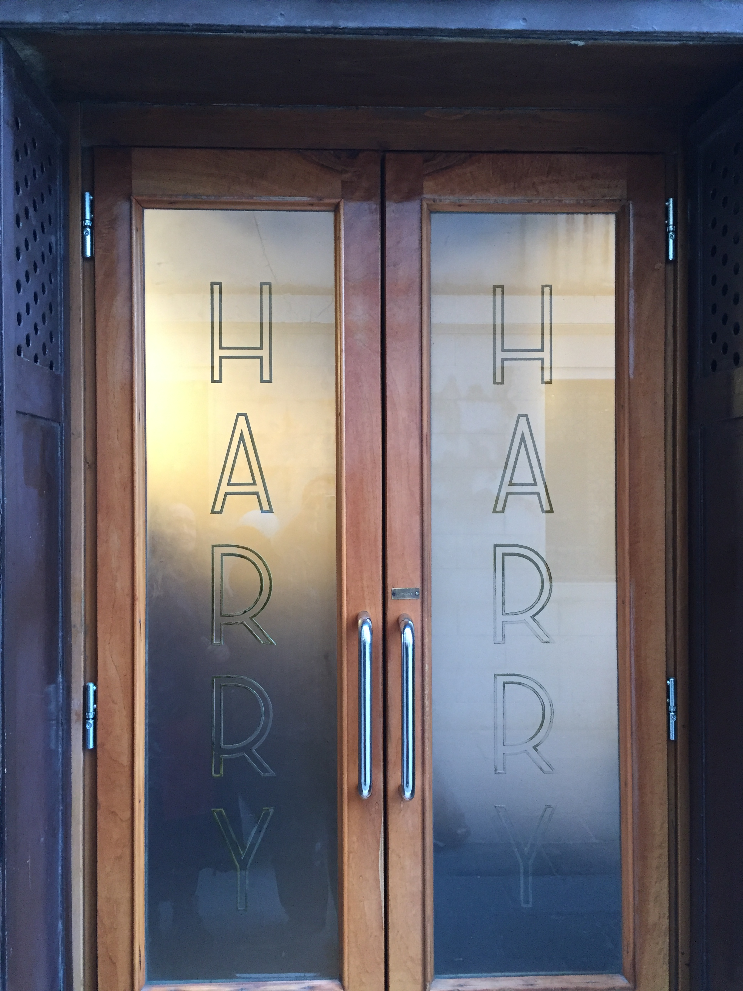 Can the literary romance of Harry's Bar possibly live up to its reality? Photo credit: L. Tripoli