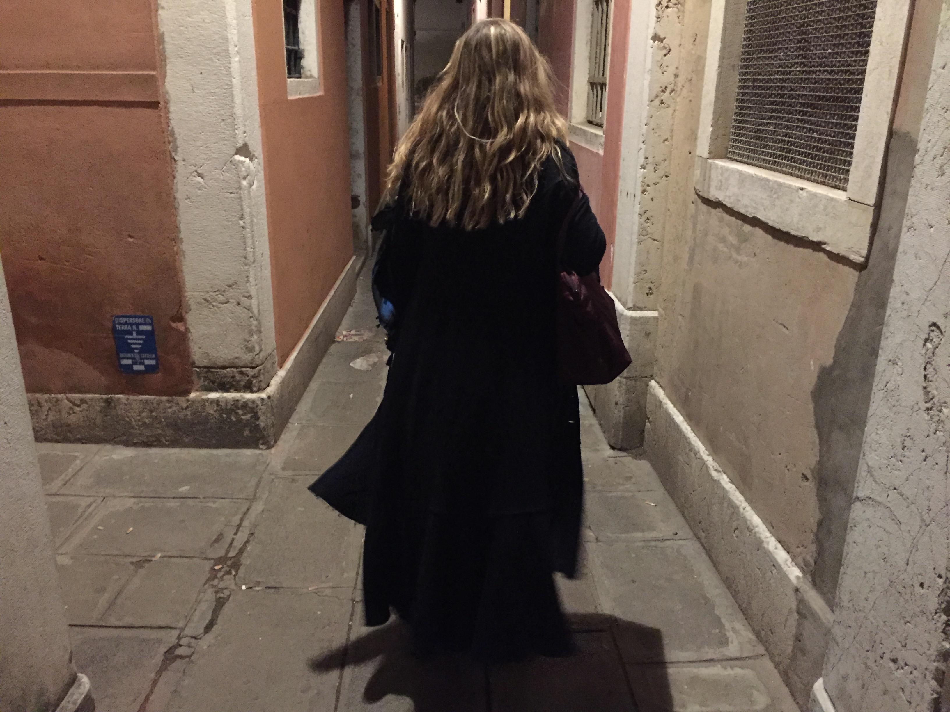 Sometimes good surprises wait in dark alleys. Photo credit: M. Ciavardini