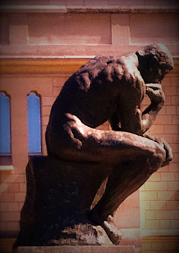 Auguste Rodin's Le Penseur (The Thinker) at the Musée Rodin in Paris Photo credit: V. Laino
