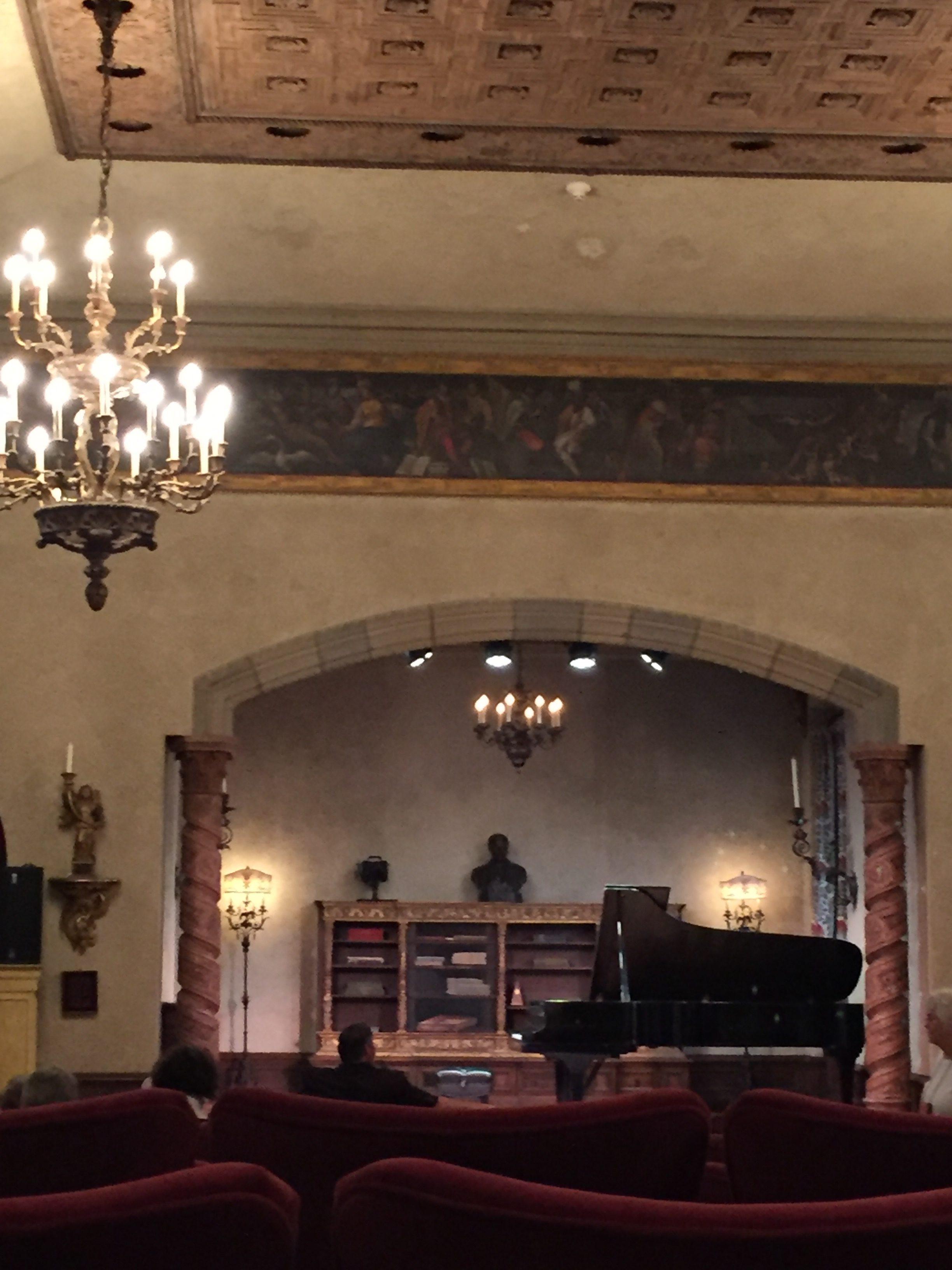 The music room at Caramoor Photo credit: M. Ciavardini