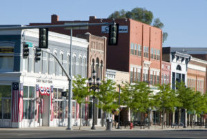 Downtown Logan, Utah Photo courtesy of Logan, Utah/Cache Valley Visitors Bureau