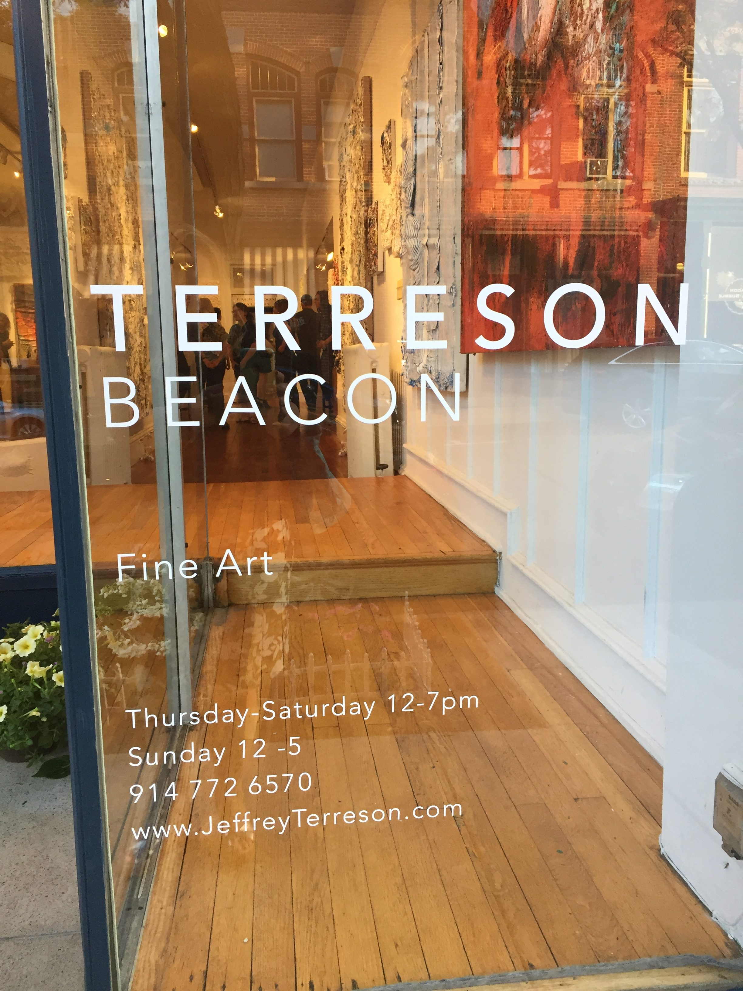 Artist Jeffrey Terreson's new gallery in Beacon, N.Y. is another good reason to visit the city. Photo credit: M. Ciavardini
