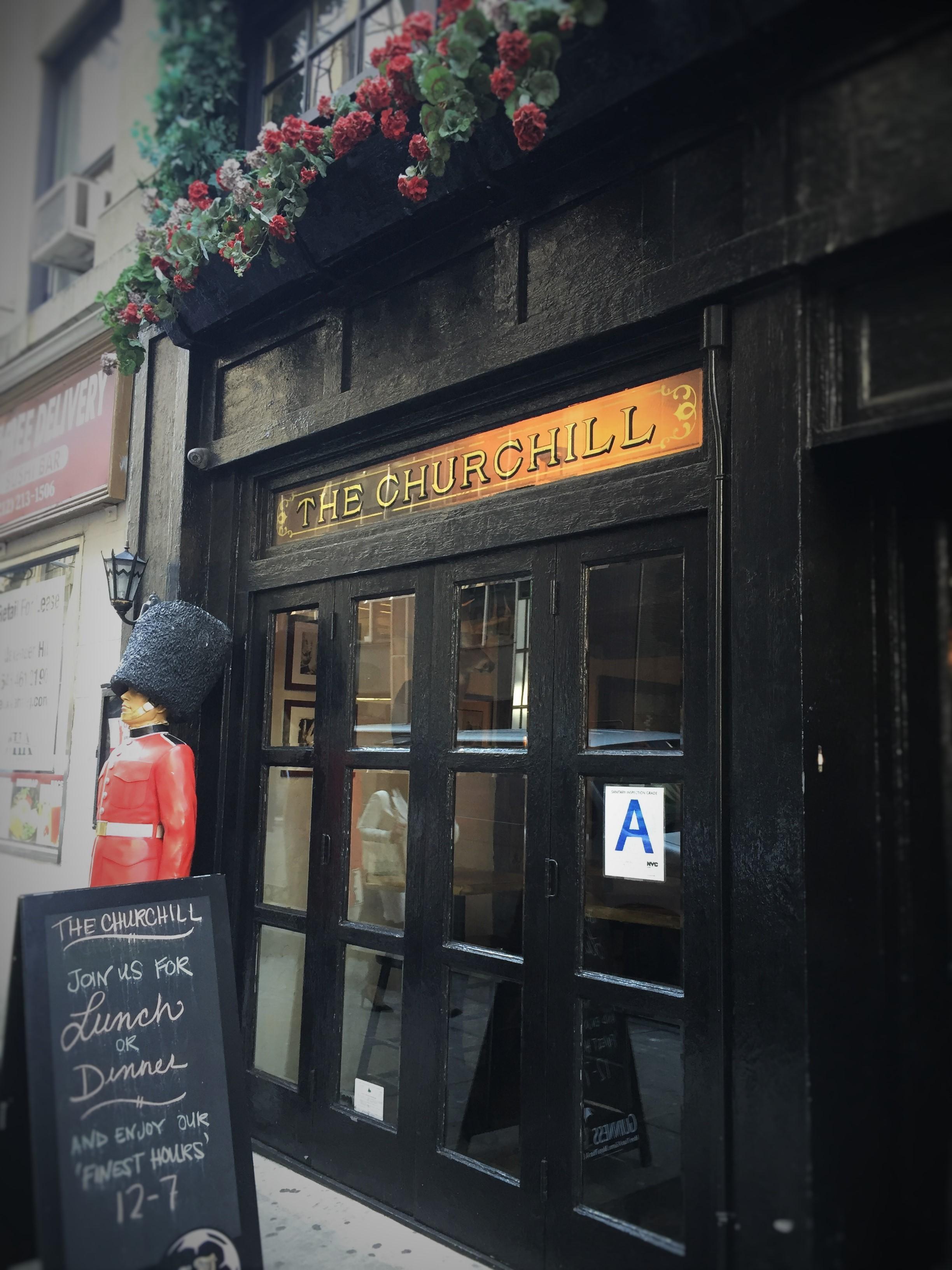 Churchill Tavern on East 28 Street in Manhattan. Photo credit: M. Ciavardini