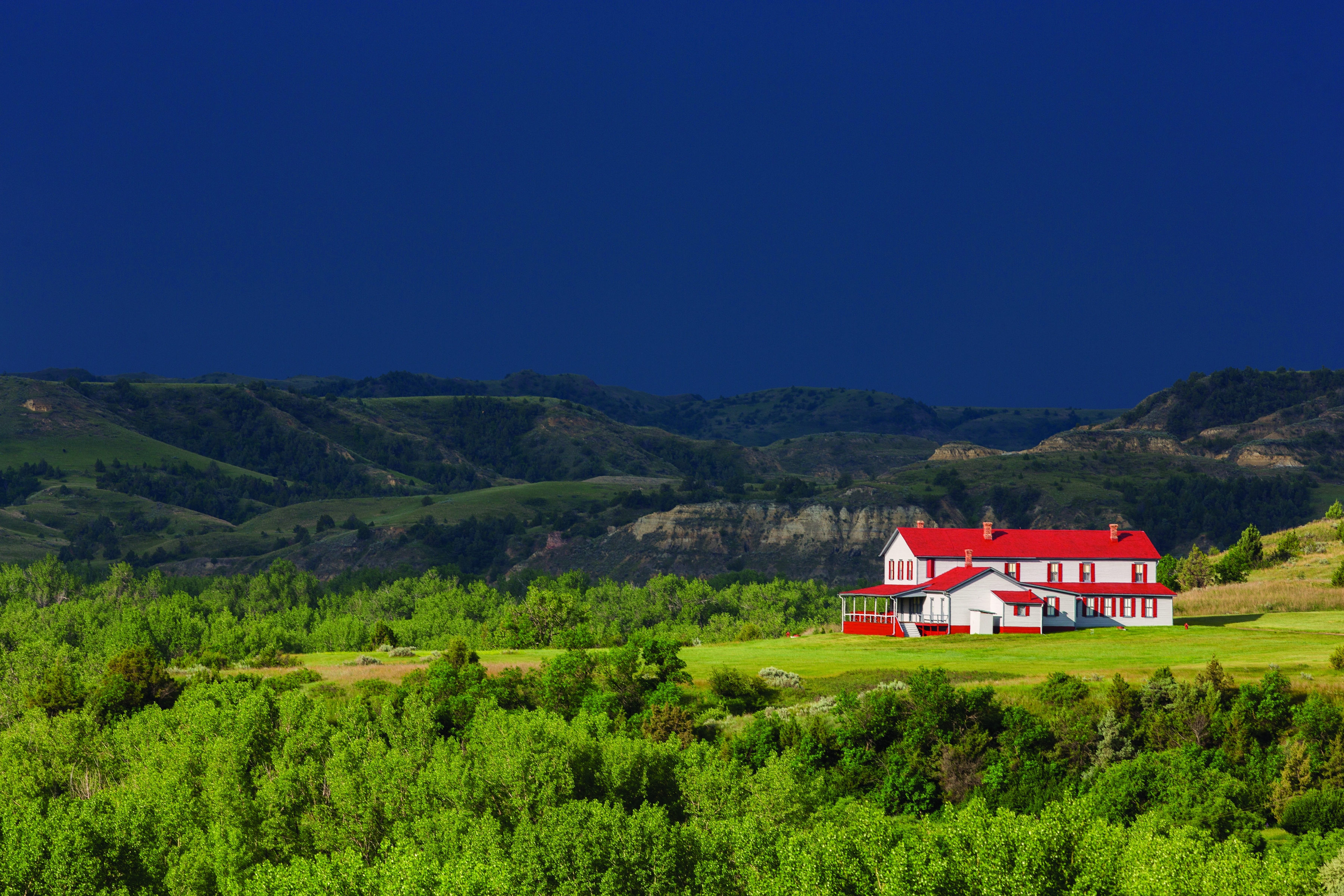 The Chateau de Mores in Medora, North Dakota was home to a French marquis in the 1800s. Photo courtesy of North Dakota Tourism