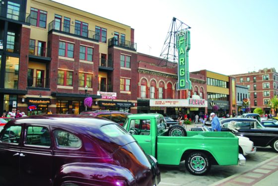 Fargo, North Dakota. Photo courtesy of North Dakota Tourism
