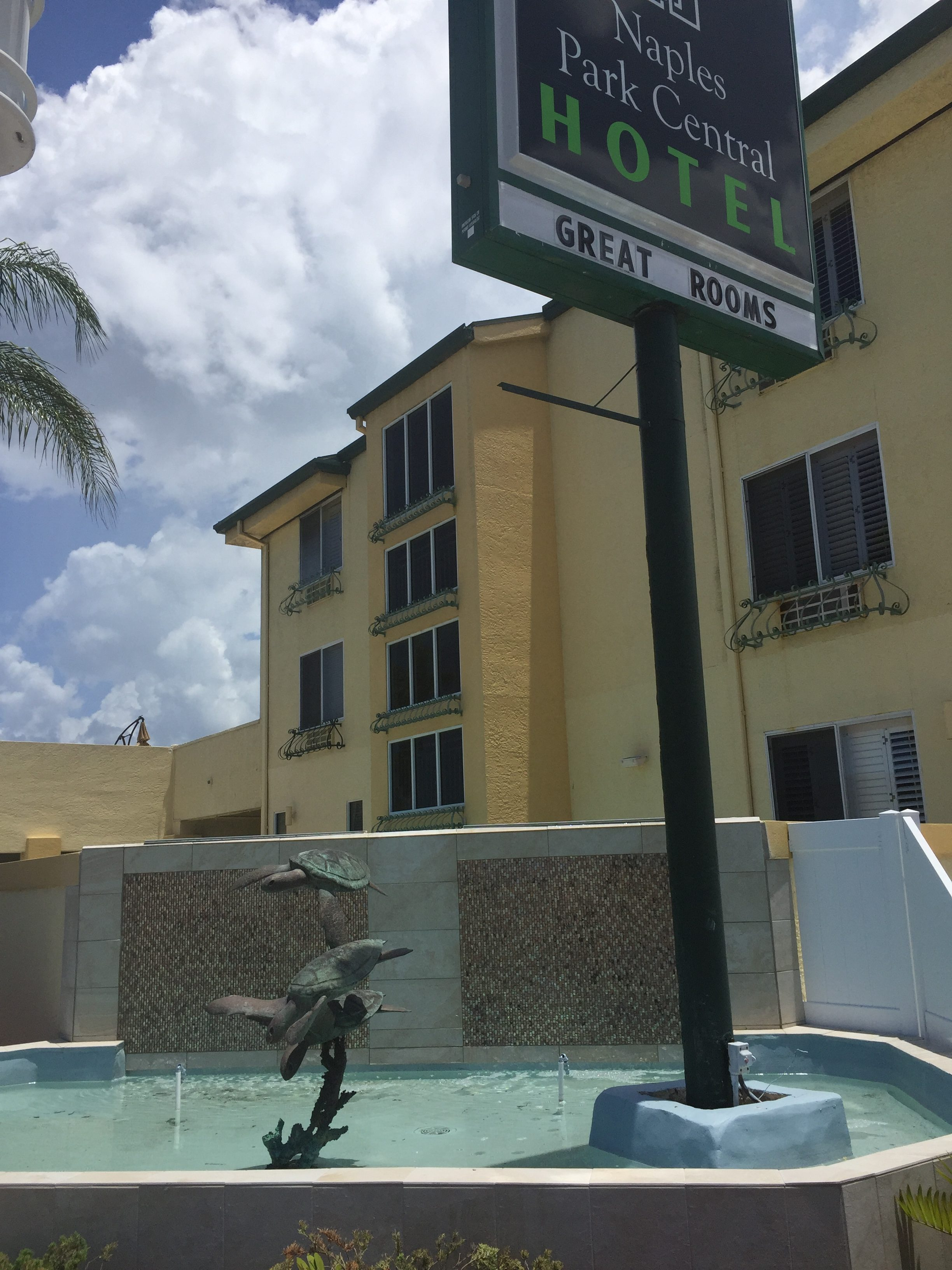 The Naples Park Central Hotel is charming, clean, and conveniently located. Photo credit: M. Ciavardini