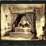President Ulysses S. Grant lying in state in City Hall, New York City, 1885. Photo credit: National Park Service Manhattan Historic Sites Archive