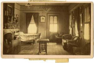 President Ulysses Grant died in this room in Mount McGregor, N.Y. Photo credit: National Park Service Manhattan Historic Sites Archive