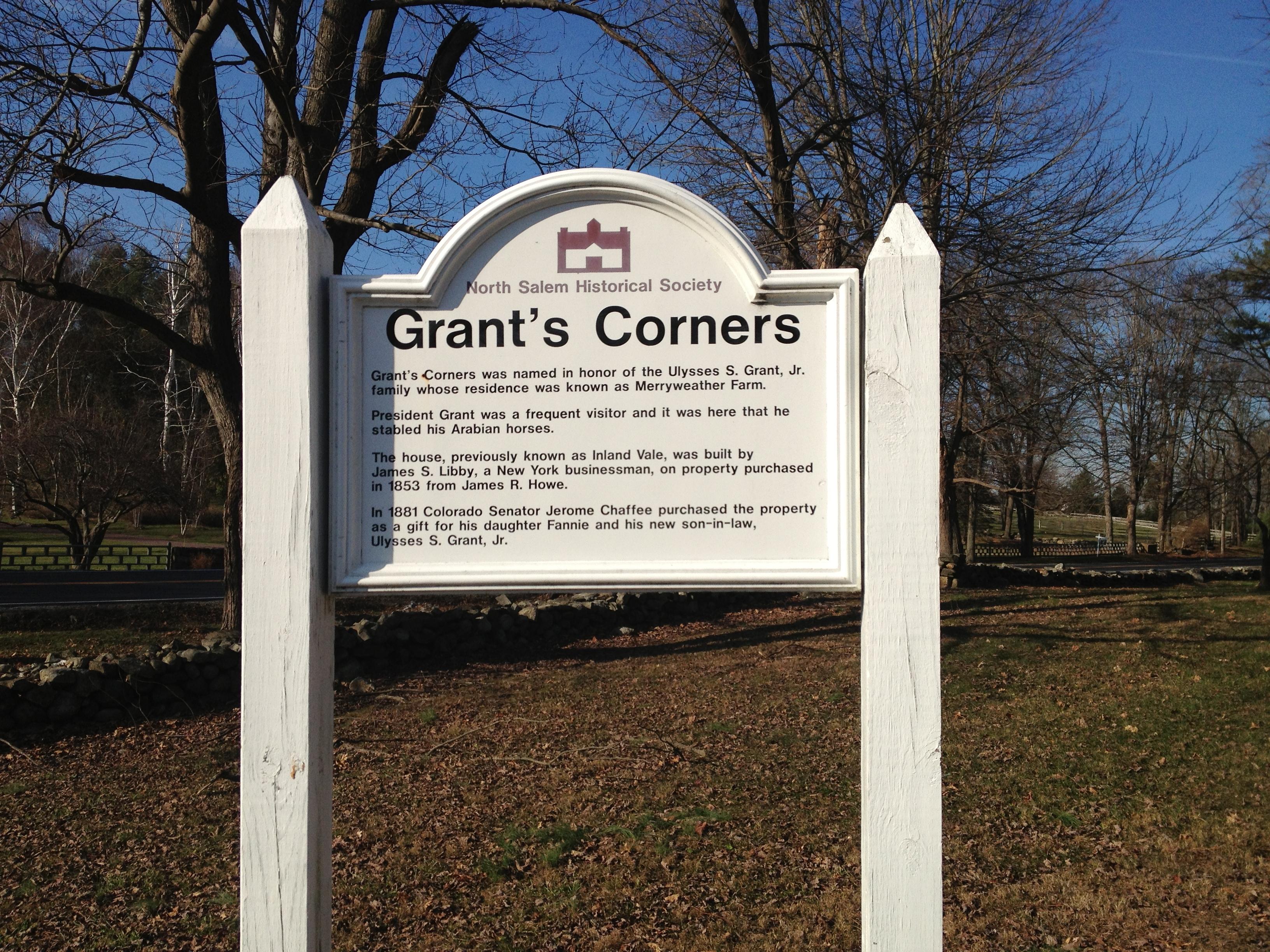 Grant's Corners in North Salem, N.Y.