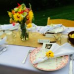Place setting for a seasonal supper at Ryder Farm in Brewster, N.Y. Photo credit: M. Ciavardini