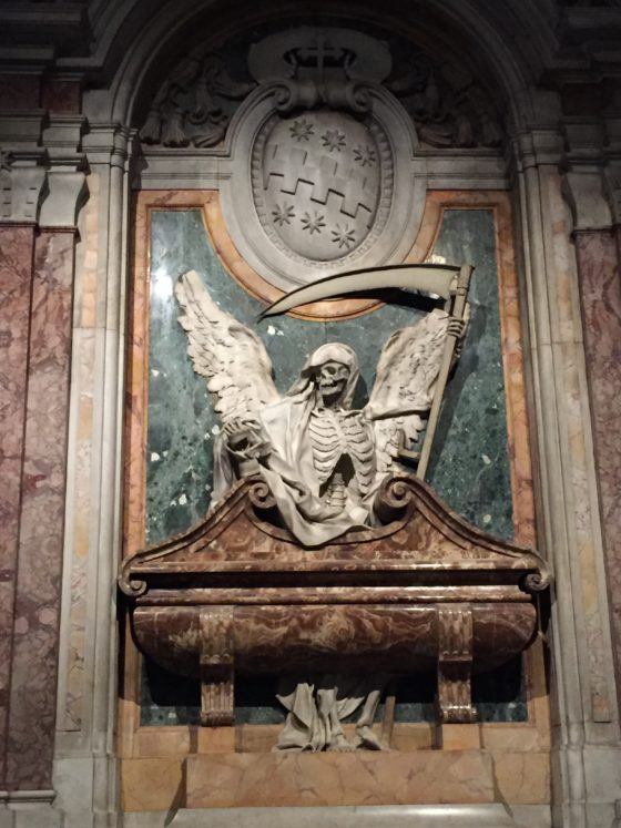A slightly different view of everlasting life at the Basilica of Saint Peter in Chains in Rome. Photo credit: M. Ciavardini
