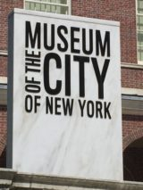 A little history, a little socializing at the Museum of the City of New York. Photo credit: M. Ciavardini
