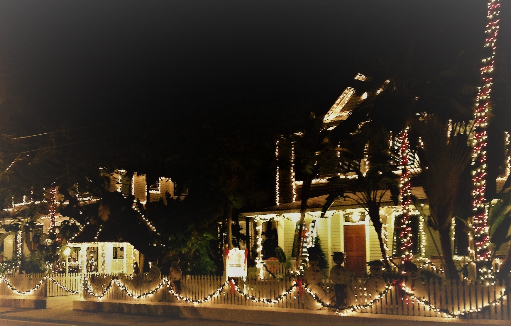 Bright lights, Key West version. Photo credit: M. Ciavardini