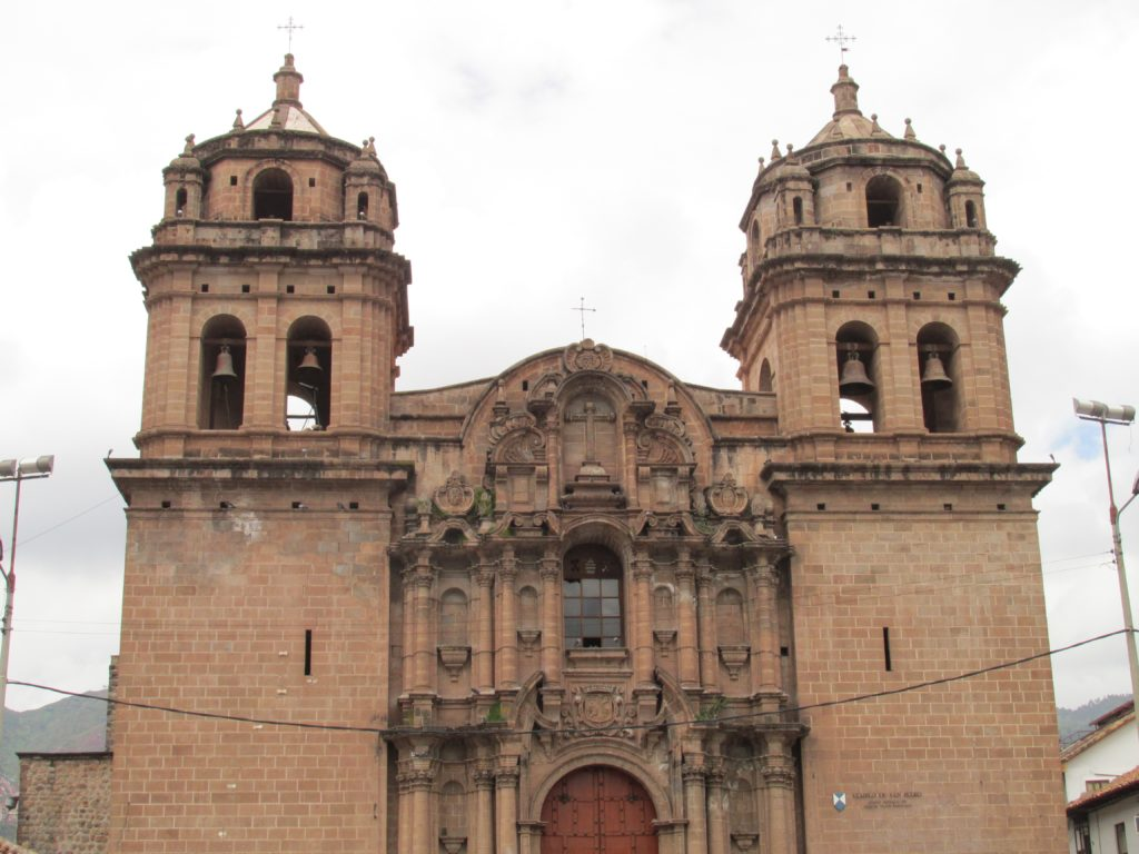 See syncretism in play at Cusco (Cuzco) Cathedral in Peru. Photo credit: M. Ciavardini