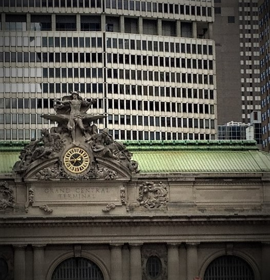Grand Central Station is a good starting point for a walking tour of New York City's Fifth Avenue.