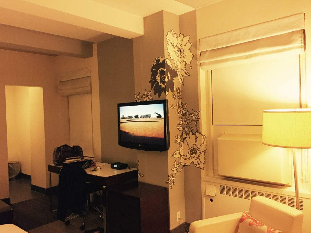Travelers don't have time to get weary, but if they do, guestrooms at the Stewart Hotel are comfy. Photo credit: M. Ciavardini