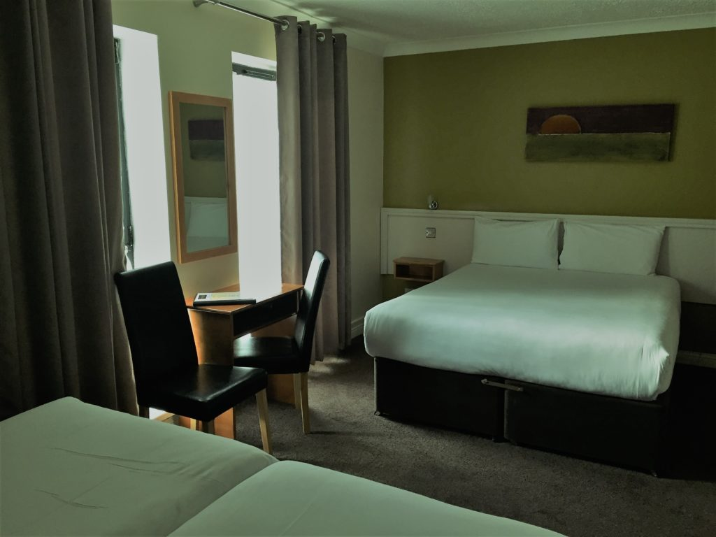 A room at the Dublin Central Inn on Talbot Street. Photo credit: M. Ciavardini