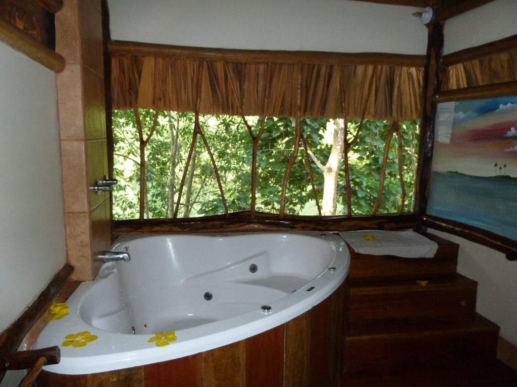 Travelers staying at the Cotton Tree Lodge in Punta Gorda, Belize can be both close to nature and soothingly clean. Photo credit: M. Ciavardini