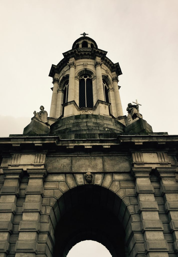 The Campanile at Trinity College, Dublin. Photo credit: M. Ciavardini