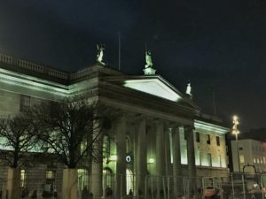 Not just any post office, the Dublin General Post Office played an important role in Irish independence. Photo credit: M. Ciavardini