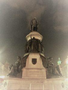 A tribute to Irish liberator Daniel O'Connell in Dublin. Photo credit: M. Ciavardini