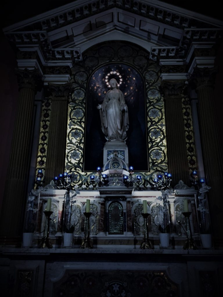 Inside Saint Mary's Pro Cathedral, Dublin. Photo credit: M. Ciavardini
