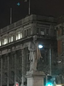 Statue of William Smith O'Brien, Dublin. Photo credit: M. Ciavardini