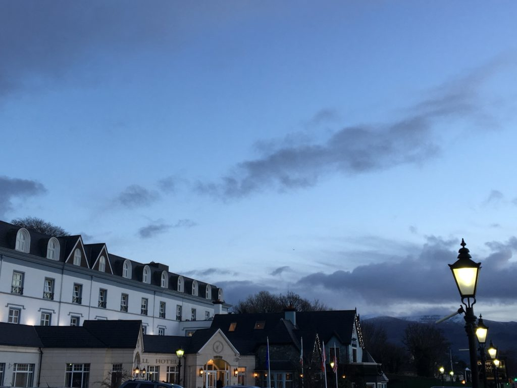 In Killarney, Ireland? Stroll to the Dromhall Hotel at twilight and stop at Kayne's Bar & Bistro for a cocktail or dinner. Photo credit: M. Ciavardini