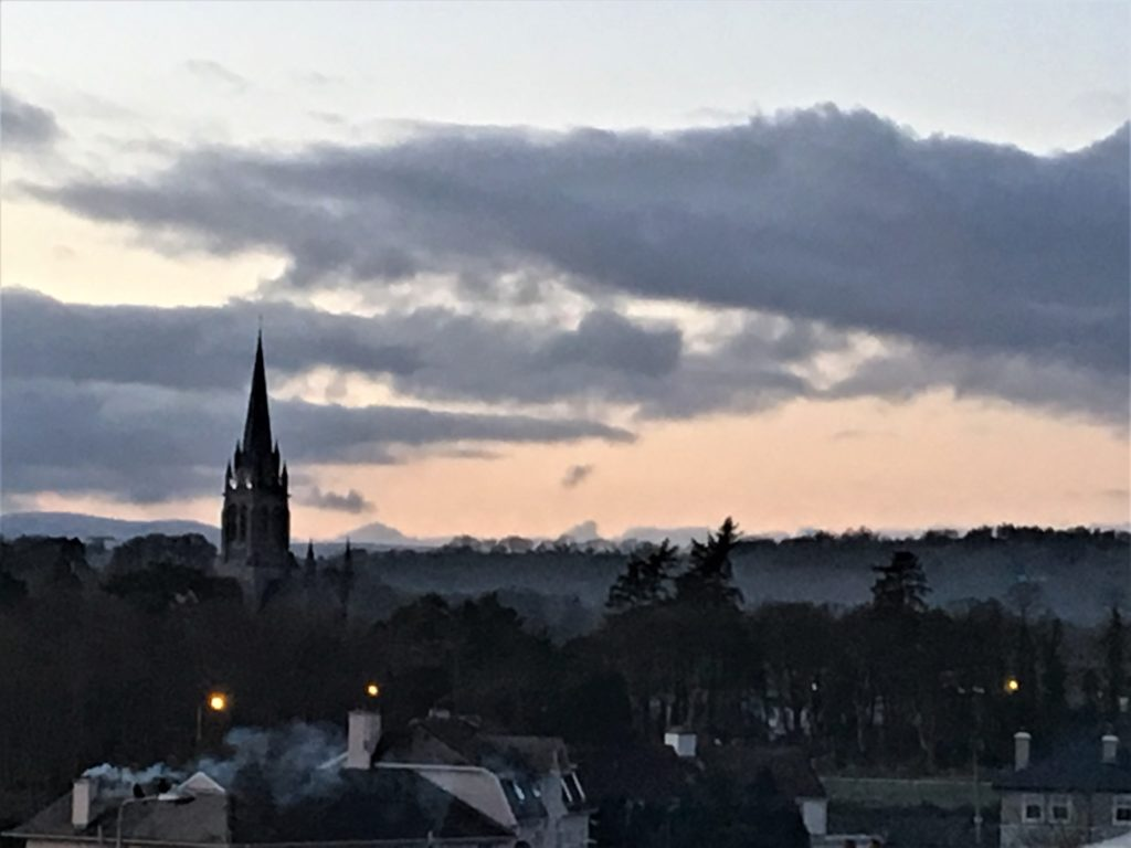 The charm of Killarney is evident from our view at the Dromhall Hotel. Photo credit: M. Ciavardini