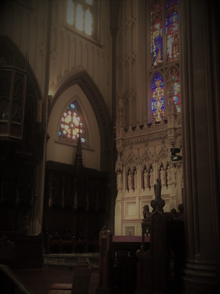 Trinity Church, Manhattan. Photo credit: L. Tripoli